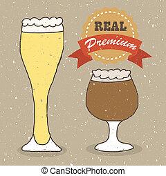 verdadero, cervezadorada, cerveza inglesa