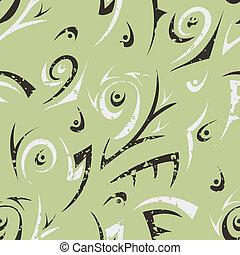 Verde abstracto sin sentido