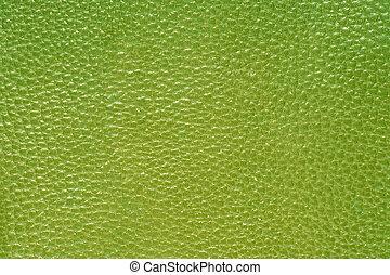verde, cuero