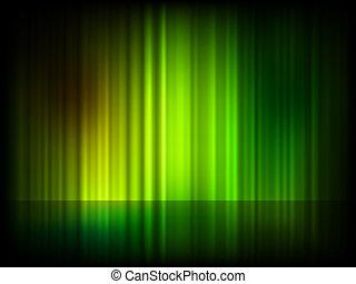 Verde fondo abstracto brillante. EPS 8