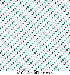 Verde multicolor y blanco lunar punto abstracto diseño de azulejos repetir el pasado