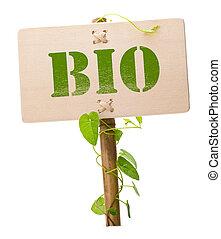 Verde y bio signo