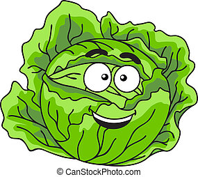 Verdura de repollo verde