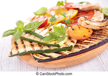 verduras asadas parrilla