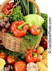 verduras crudas