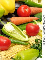 Verduras de colección