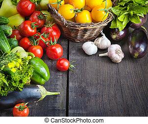 Verduras frescas y frutas