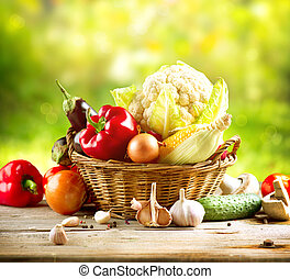 Verduras orgánicas