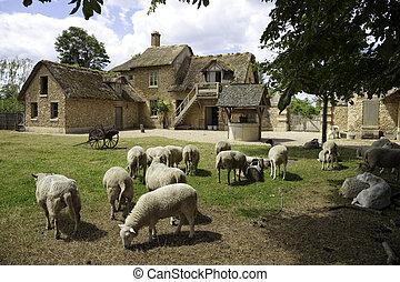 Versalles, granja medieval