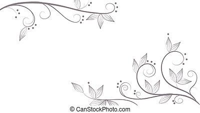 Viñas y flores