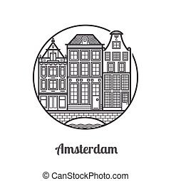 Viaja en el ícono de Ámsterdam
