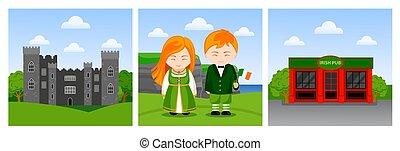 Viajar a Irlanda.