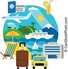 Viajar y recurrir