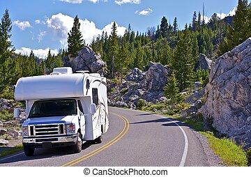 Viaje a Yellowstone RV