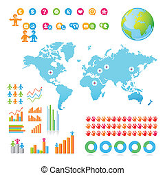 Viaje de negocios infográficos