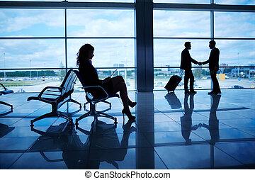 viaje, empresa / negocio