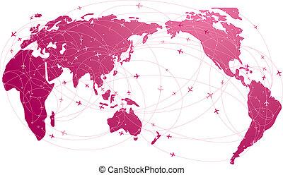 Viaje global