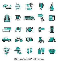 viaje, signs., recreación