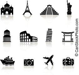 Viajes y puntos de referencia