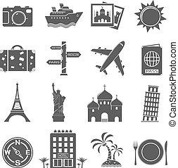 Viajes y puntos de referencia establecidos