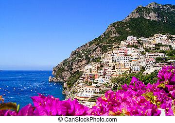 Vibrant amalfi Coast