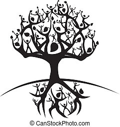 vida, árbol