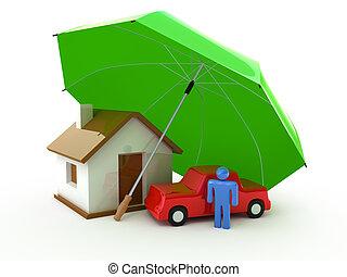 vida, hogar, seguro, automóvil