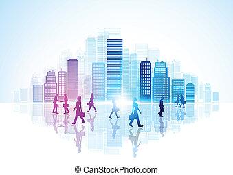 vida urbana, ciudad