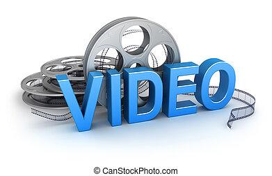 Video. Concepto icono