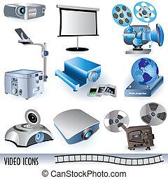 Video iconos