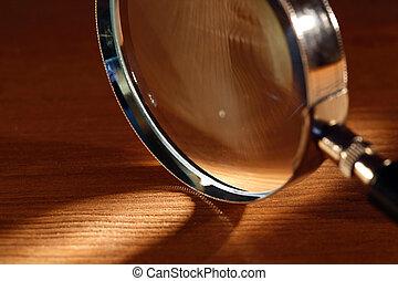vidrio, aumentar