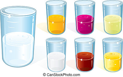 vidrio, bebida