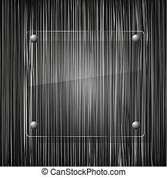 Vidrio de fondo grunge. Ilustración del vector