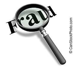 vidrio, detector, aumentar, frauds