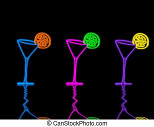 vidrio, martini
