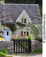 Vieja casita, Bibury, Gloucestershire, cotswolds, UK