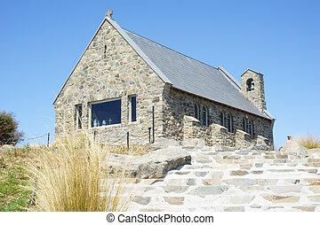 Vieja iglesia de piedra