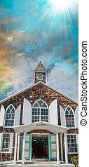Vieja iglesia en St