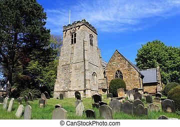 Vieja iglesia y cementerio