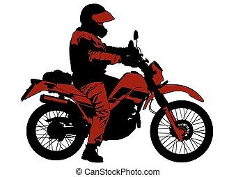 Vieja moto cinco
