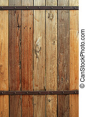Vieja pared de madera