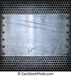 Vieja textura de fondo de metal