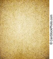 Vieja textura de papel marrón color amarillo