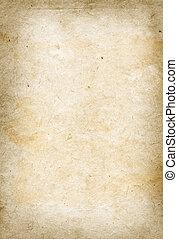 Vieja textura de papel pergamino
