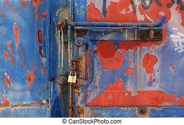 Viejas texturas de vagón de tren