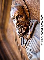 Viejo artefacto religioso