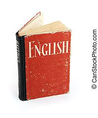 Viejo diccionario inglés
