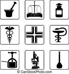 viejo, farmacia