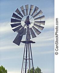 Viejo molino de viento