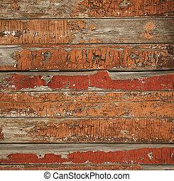 viejo, textura de madera, pintado